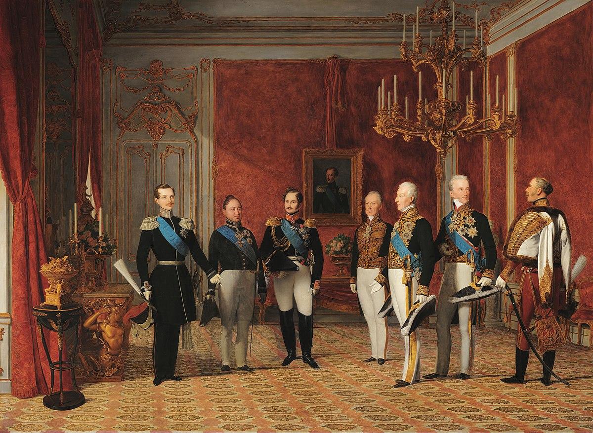 Reception of Grand Duke Alexander Nikolayevich