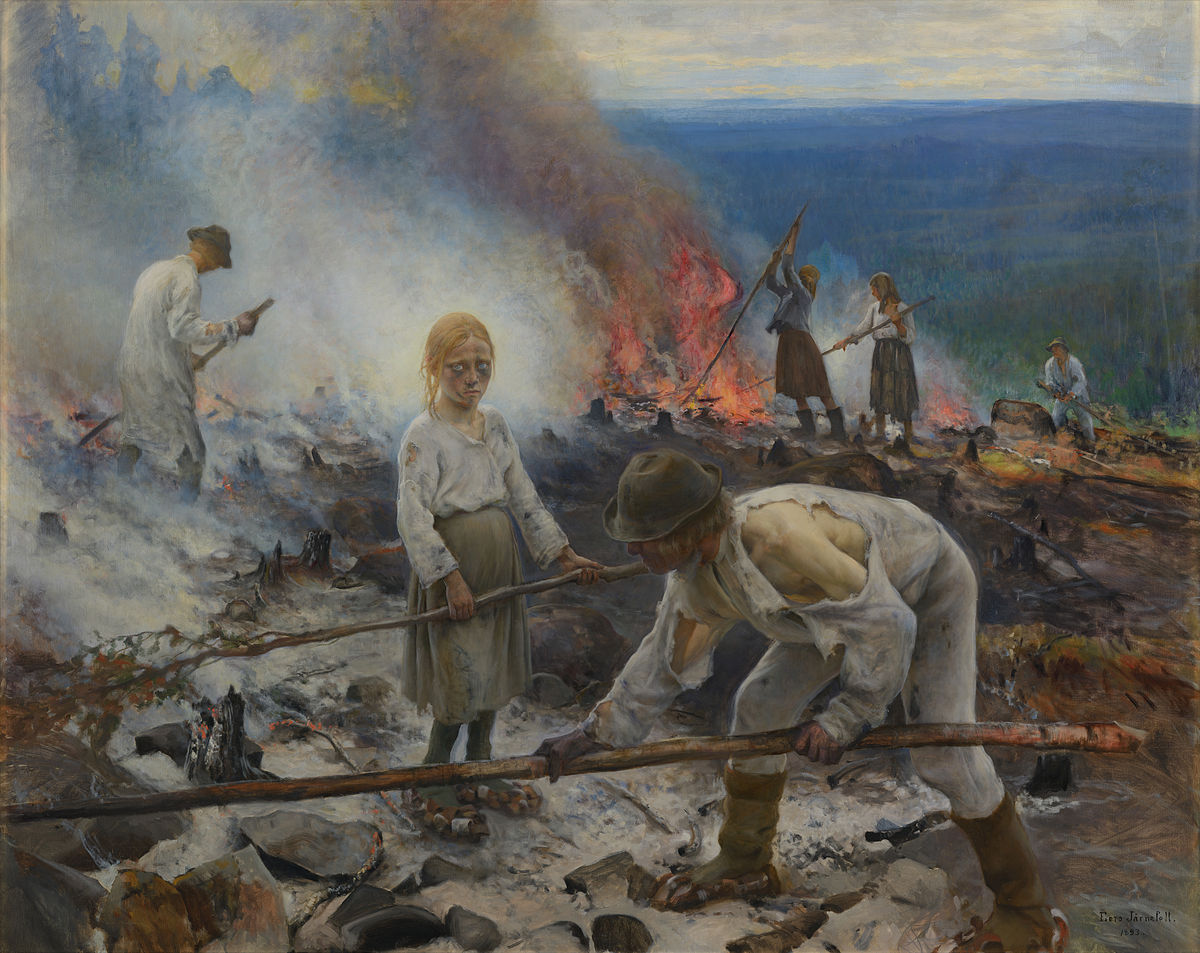 Under the Yoke (Burning the Brushwood)
